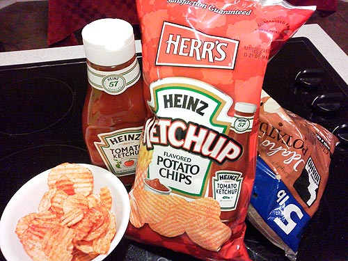Hey, you got your ketchup in my potato chips!
