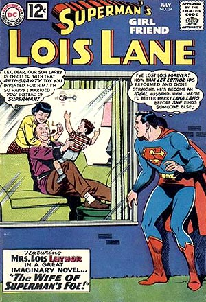 Wait, they've been married long enough to have a son, Superman. Are you just now growing concerned?