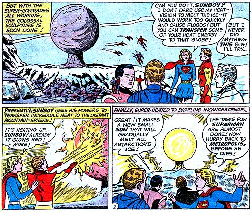 Superman 156 has been brought to you by the American education system.