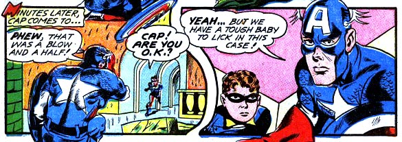 Captain America, Child Molester.