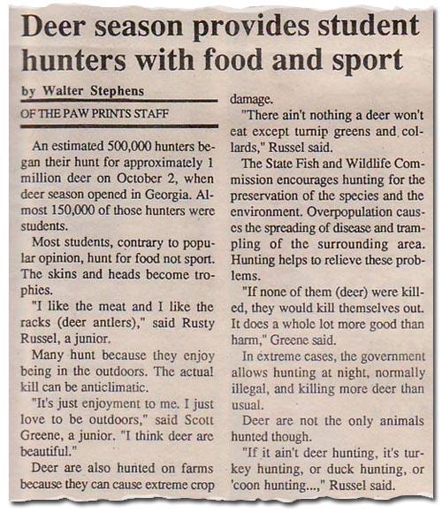 Paw Prints, Vol 2, No 2, December 18, 1990