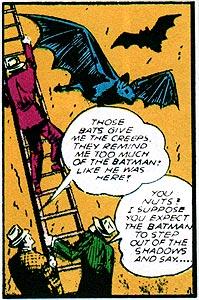 That's one BIG bat!