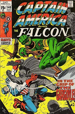 The day that Captain America needs Falcon to save him from the Grey Gargoyle is the day that he gets shot to death on the court steps. Oops.