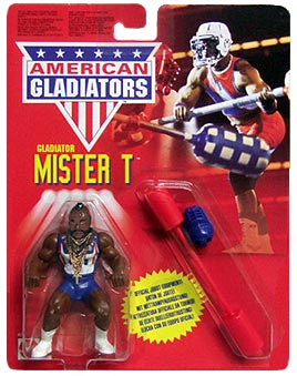 I feel compassion for the buffoon  who doesn't enjoy American Gladiators.