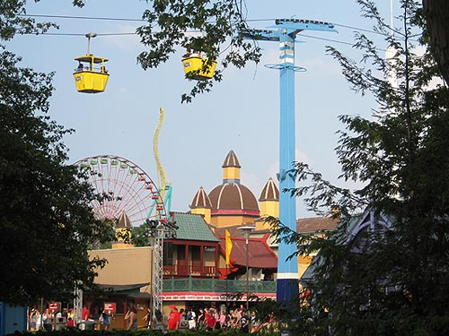 View of the Midway during an Icee break.