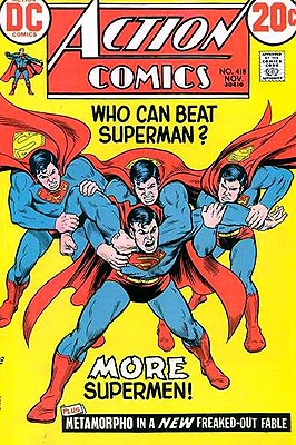 Maybe they can take Superman from behind. Wait a minute...