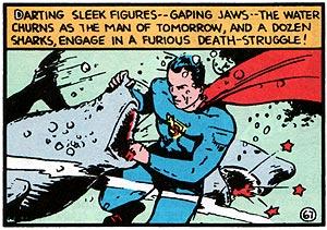 Meet Superman, DMD (Doctor of Marine Dentistry).
