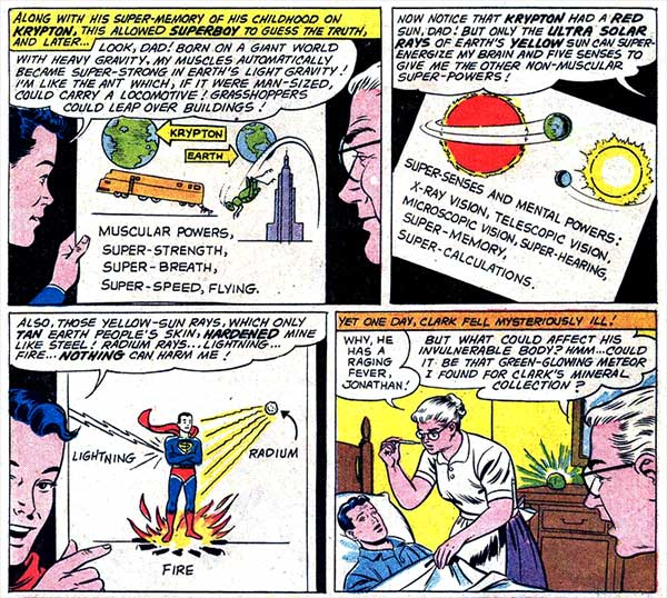 Yeah, but did Superboy predict climate change?