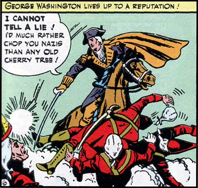 Yes, this panel was published in 1943. No, that doesn't make it any less insane.