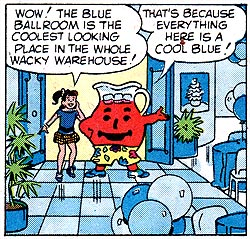 Kool-Aid Man hosts Blue Balls!