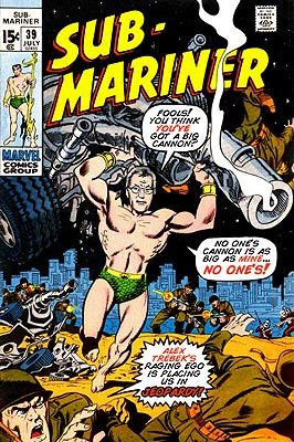 Alex Trebek versus the Sub-Mariner!