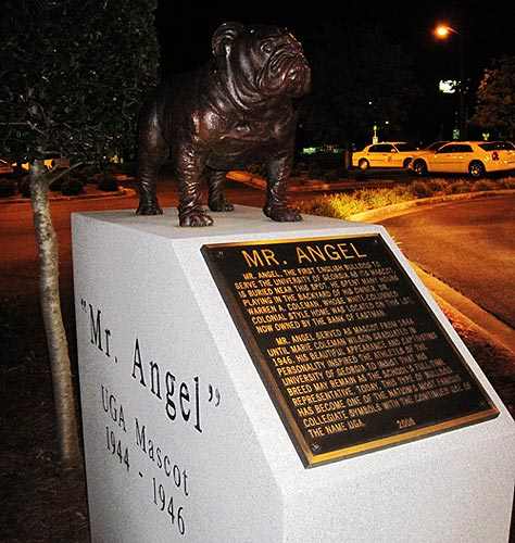 All of Georgia's mascots should be called Mr. Angel.