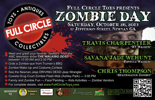 Zombie Day, Saturday, October 26, 2013