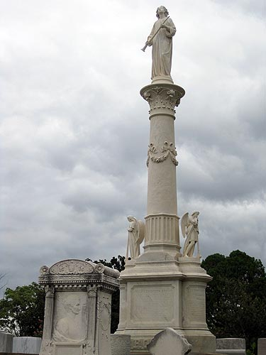 If you become a Georgia Governor, a Georgia Superior Court Judge, and a United States Senator, you, too, can have an impressive monument.