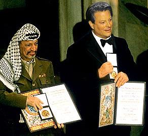 Al Gore, meet Yasir Arafat.