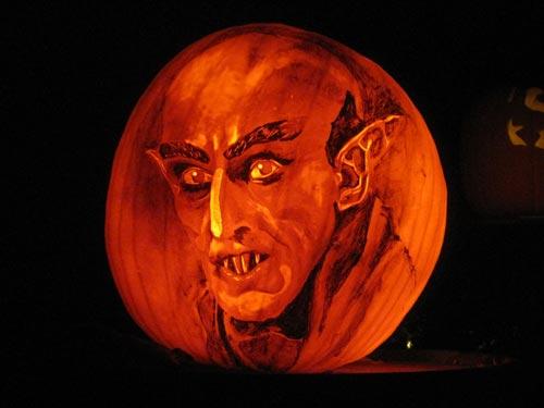 Nosferatu is German for 'pumpkin'