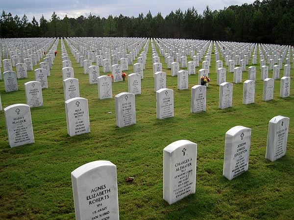 Georgia National Cemetery, Canton, GA