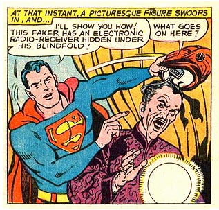 This was a job for Superman?