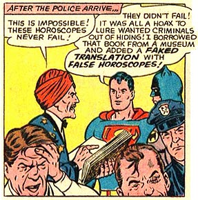 The day Superman lost his library privileges.