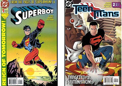Superboy: Black is for funerals.