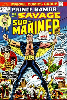 Namor: Wearing black? Go jump in a lake.