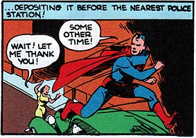 Go ahead and give thanks for Superman.