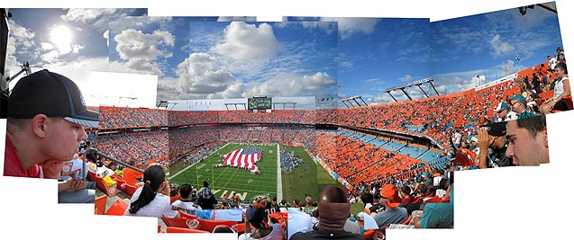 Just like the real stadium, this picture is gets emptier the longer you look at it