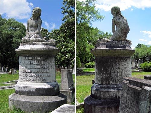 Grave of Eliza Barnwell Heyward