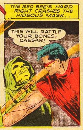 This panel is only here to justify the Superman reference in the title