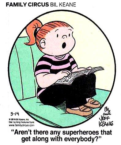 The bullshit here is that kids don't read comic books anymore