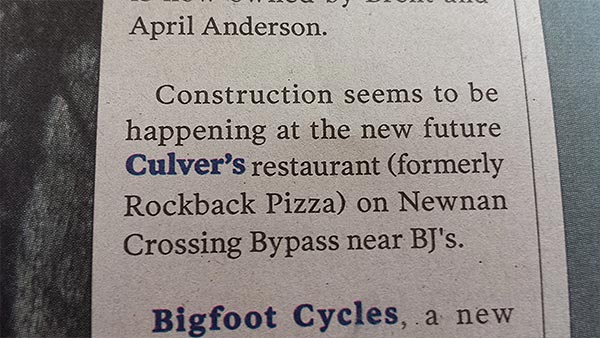 Culvers is coming!