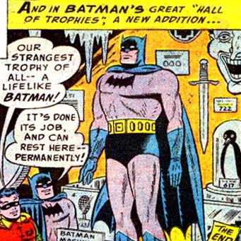 We always talk about his need to dress like a bat, but the man does have other psychological problems