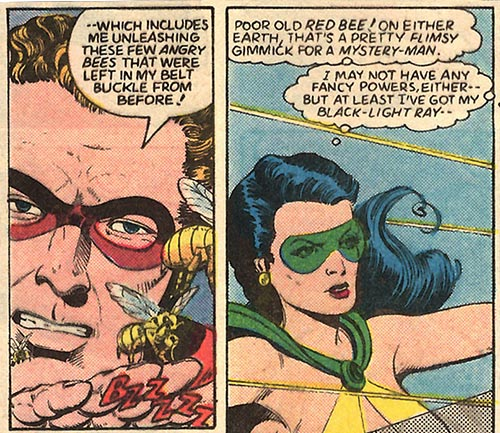 Oh, sorry. Phantom Lady's got headlight.