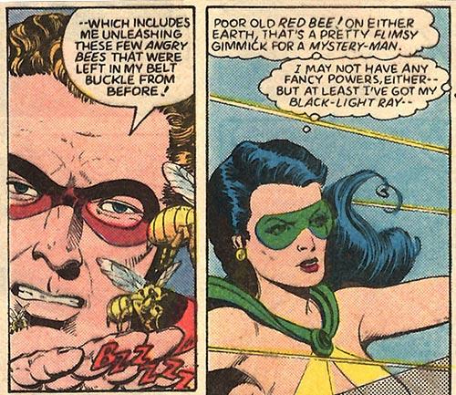 Oh, sorry. Phantom Lady's got headlight.