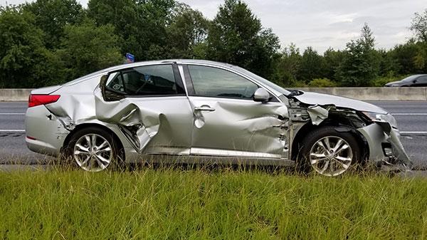 Mom always said the car had a bad blind spot