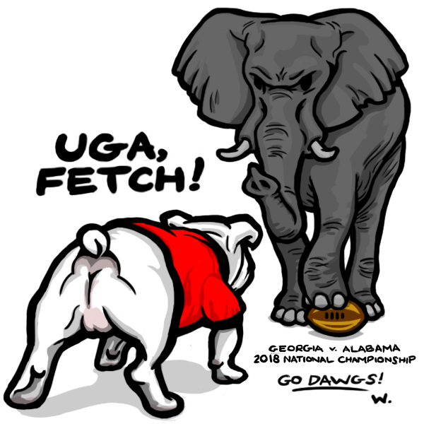 2018 National Championship: UGA vs Alabama