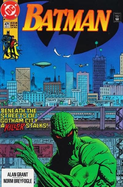 Once upon a time, Killer Croc was just a human with a bad case of eczema.