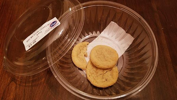 Cookies 72, Walter 0