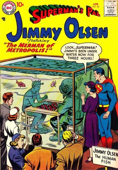 I find it easier to believe that Jimmy Olsen can hold his breath for three hours than that he can win at checkers