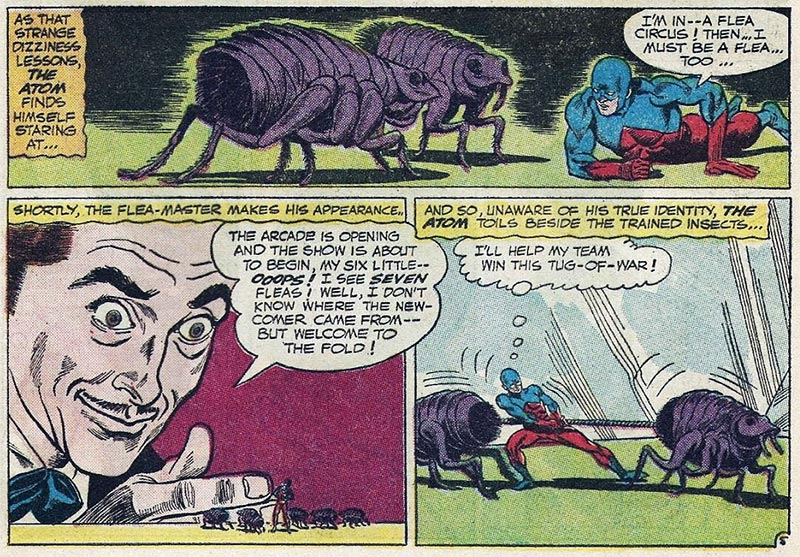 Flea-master? He's got to be a Spider-man villain by now, right?