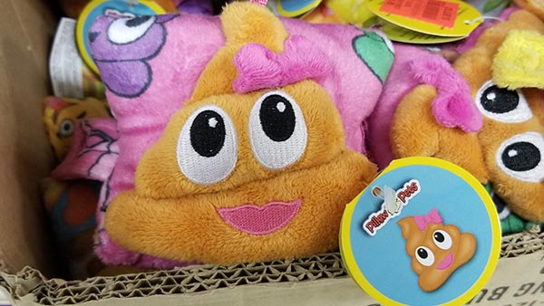 Cuddly Poo is an oxymoron