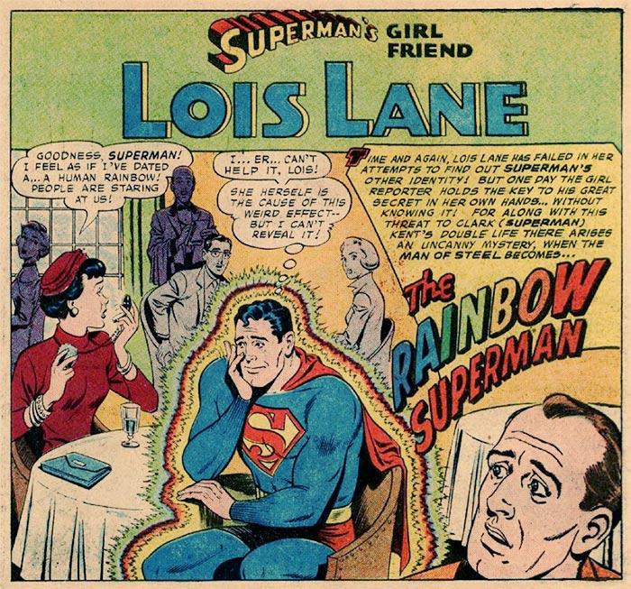 Extra, extra! Lois Lane turns Superman gay!