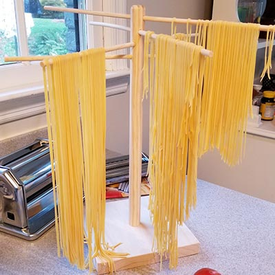 I typically say something snarky here, but I'm proud of that pasta