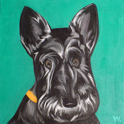Dottie, the Scottie