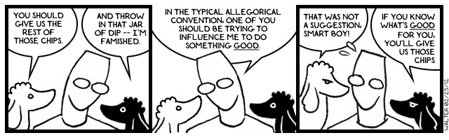 The good, the bad, and the poodles