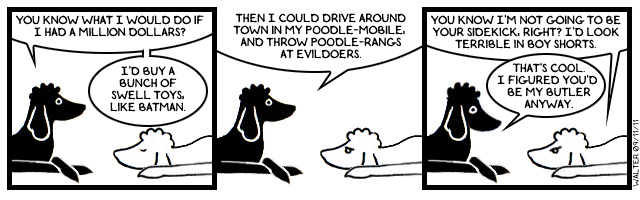 Look, it's the Poodle-sign!