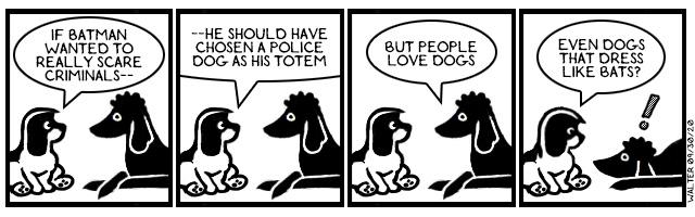 Duh nuh nuh nuh nuh, Batdog!