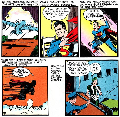 Lois Lane, meet Gwen Staffani. Superman, meet Rock Hudson.
