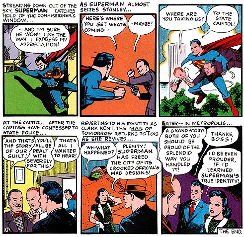 Superman: Truth, Justice, and the American Gay City!
