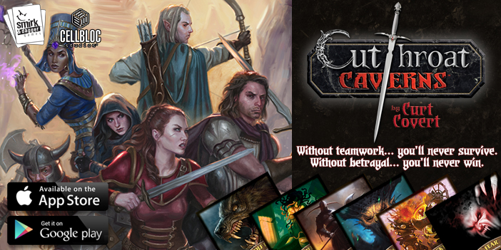 Cutthroat Caverns for Android and iPhone